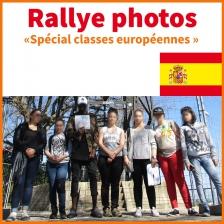 RALLYE PHOTOS EN ESPAGNOL - ACTIVITÉ LYCÉENS